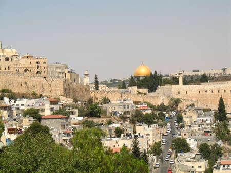 The old city of Jerusalem, Israel photo