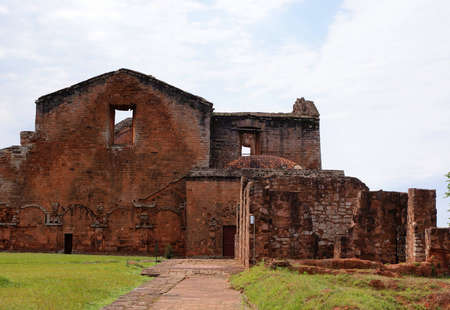 paraguay: Jesuit mission Ruins in Trinidad, Paraguay