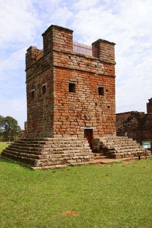 jesuit: Jesuit mission Ruins in Trinidad, Paraguay