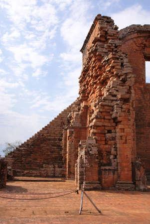 Jesuit mission Ruins in Trinidad, Paraguay