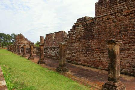 Paraguay: Ruines de la mission j�suite de Trinidad, le Paraguay