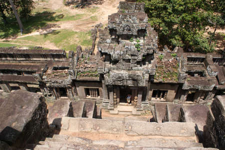 Ancient temple in Angkor, Cambodia Stock Photo - 14000520