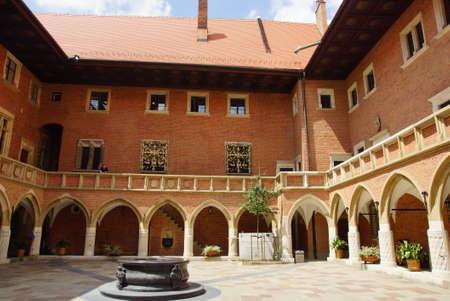 Universit� Jagellonne, Collegium Maius, Cracovie, Pologne