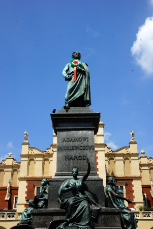 The Main Market Square in Cracow, Old Town, Poland Stock Photo - 18505224