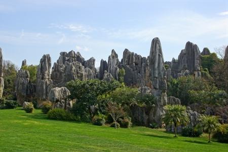 Shilin Stone Forest � Kunming, Yunnan, Chine