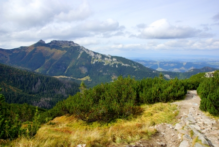 giewont: Giewont, landscape od Tatras Mountain, Poland