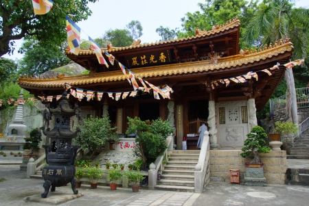 Buddhist Nanputuo temple, Xiamen, China Stock Photo