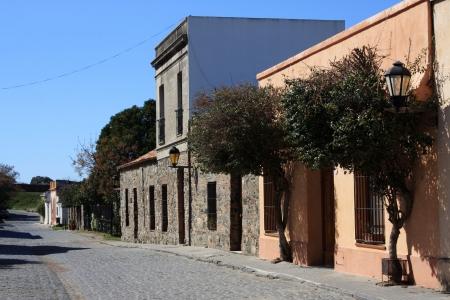 casa colonial: Casa colonial vieja en Colonia del Sacramento, Uruguay