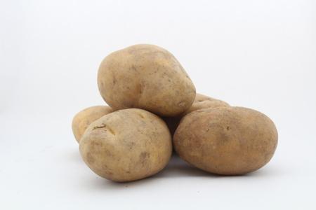 dull: dull potato Stock Photo