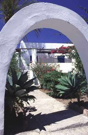 panarea: a typical example of architecture in the aeolian islands