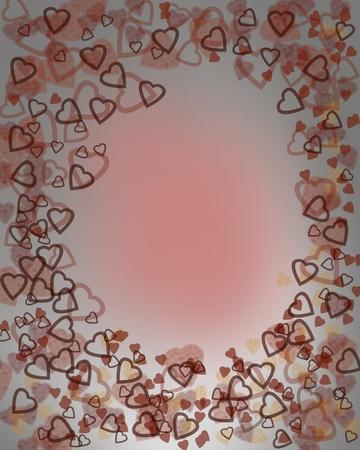 Háttér szívek