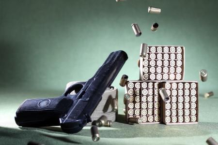 armament: handgun