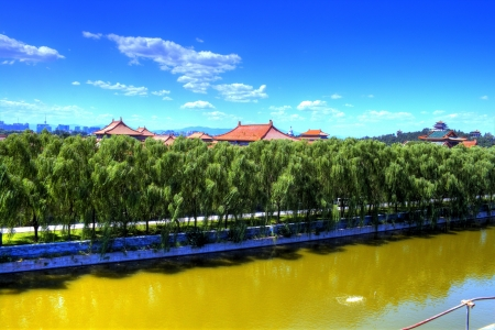 The Forbidden City in China  photo