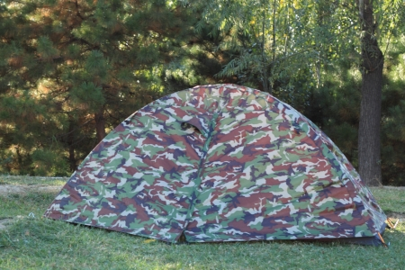 camping site: Tent in camping site at park.