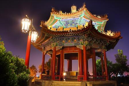 The Jingshan park in Beijing China