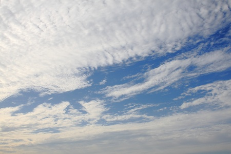 Close up of clouds Stock Photo