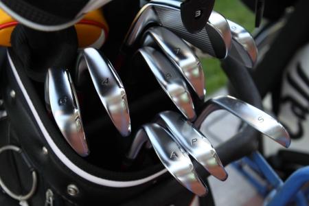 golf club: Golf Clubs Stock Photo