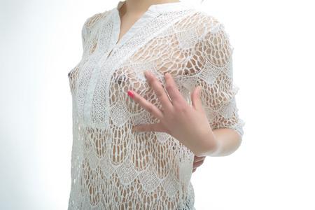 nude female buttocks: Sexy body Stock Photo
