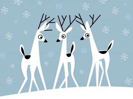 alce: cervi di Natale