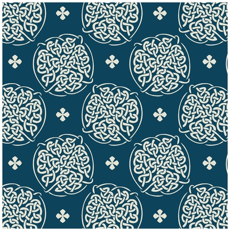 knot pattern Vector