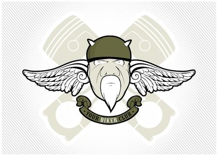 Club de motards Vecteurs
