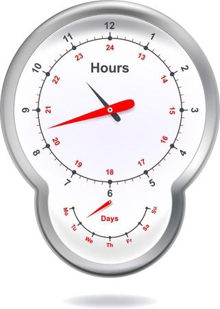 alarm clock Stock Vector - 8682385