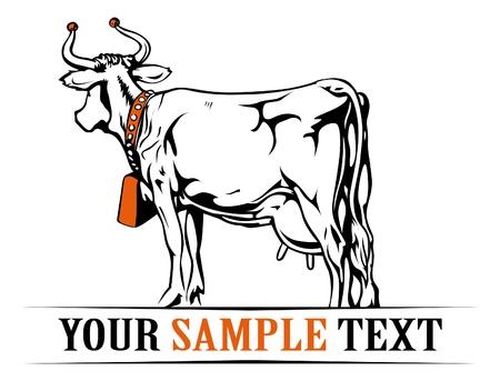 farm cow banner