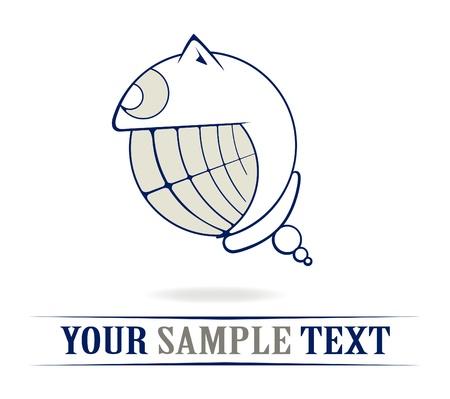 Teeth crazy smile Stock Vector - 8986448