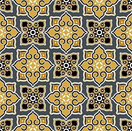 siam: thailand background pattern Illustration