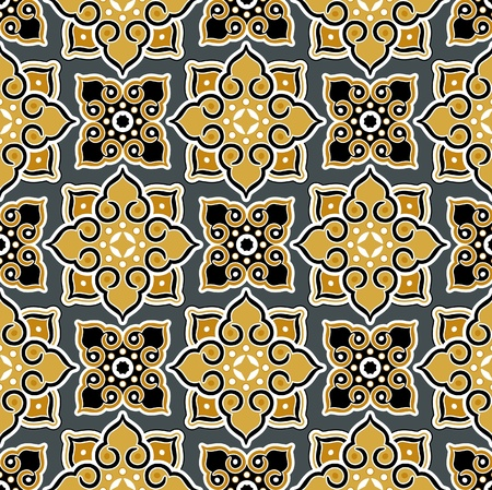 thailand background pattern Ilustração