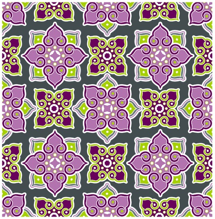 craft ornament: thailand background pattern Illustration