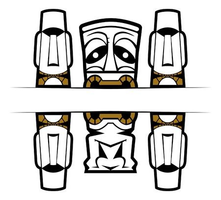 mask tattoo Vector