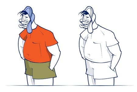 scamp: bad cartoon boy