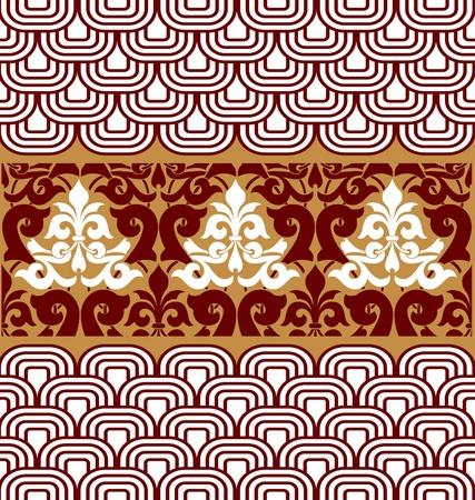 vintage pattern background Illustration
