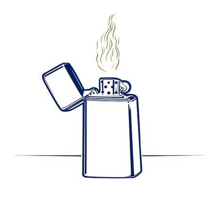 encendedores: estilo retro de fuego más ligero
