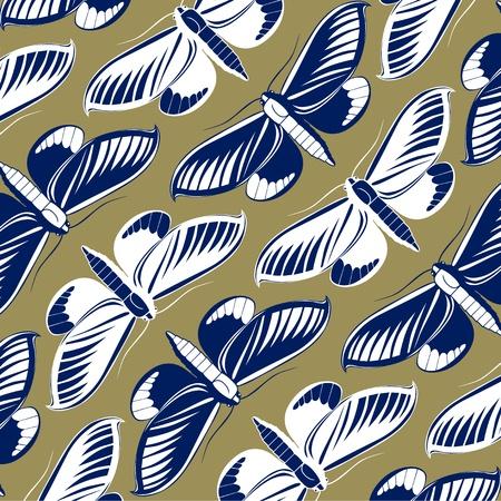 butterfly pattern: butterfly pattern background