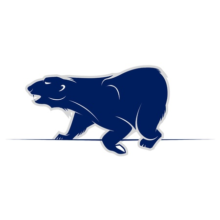 wild bear walking icon  Stock Vector - 11862746