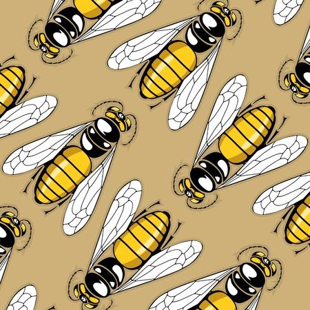 sting: cartoon sting pattern background Illustration