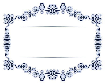 victorian anniversary: antique vintage lace background frame