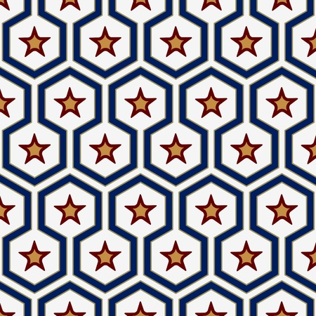 geometry star pattern background in vector Stock Vector - 13529664
