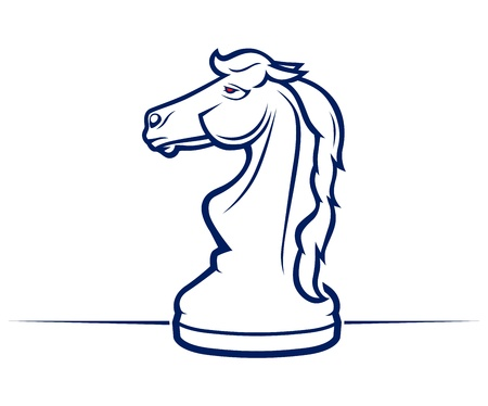 steed: chess horse icon