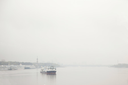 steamboat: Steamboat in the fog