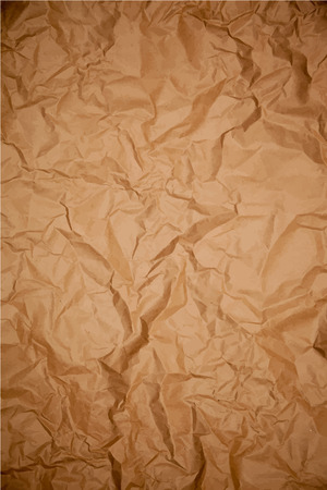 crumpled: Crumpled dark wrapping paper texture, vector background Illustration