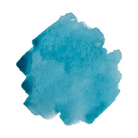 Vector blue watercolor design