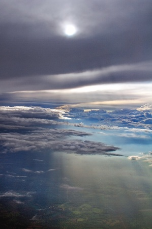 seraphic: ambrosial, clouds, earth, sky Stock Photo