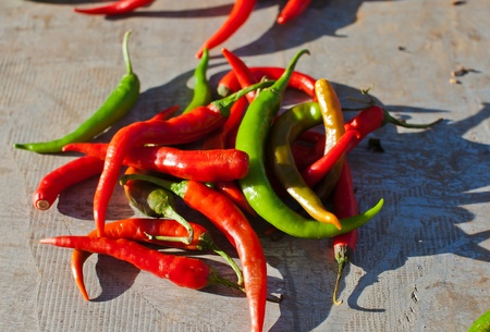 chiles picantes: chiles