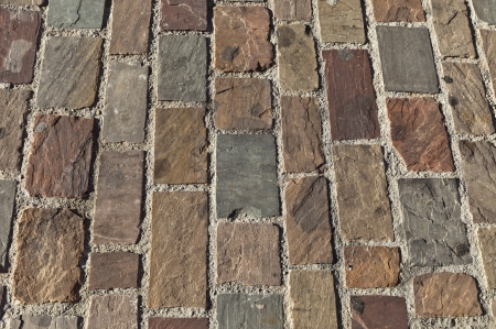 texture of an old brick  photo