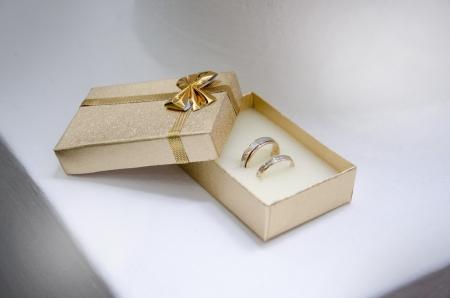 wedding rings on oranges