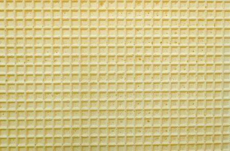 Structure of a baked golden wafer