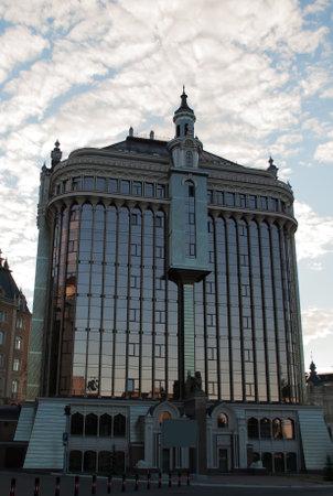 Elite residential house Renaissance is located in center of Kazan